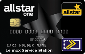 Allstar one black fuel card