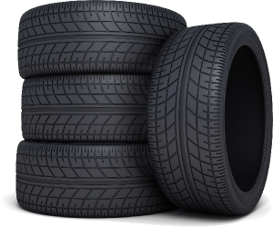 Bundle of tyres
