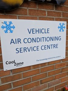 Lennox Service Station Air conditioning sign